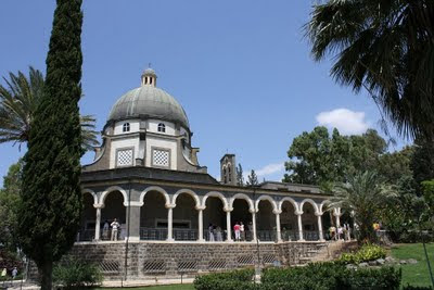 Monte de las Bienaventuranzas - Mar de Galilea 3