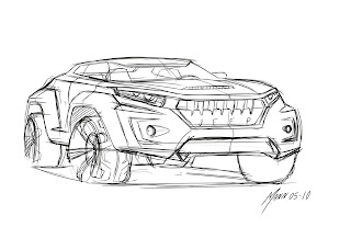We Draw Cars: May 2010