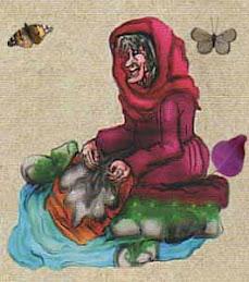 La llavandera