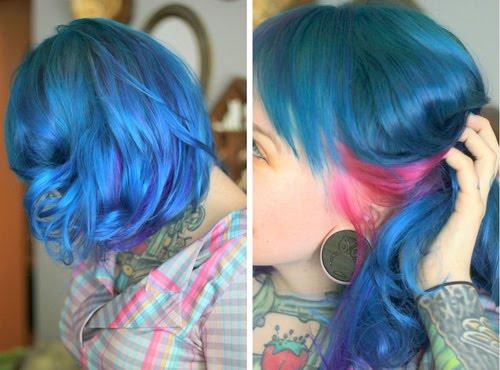 We Heart Hair ∆ Hairspiration Etc Feelin Blue Feelin You