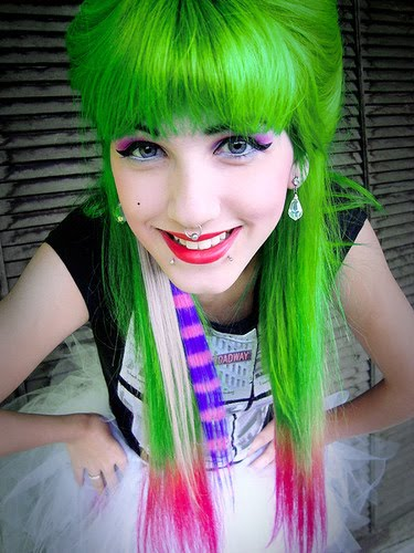 We Heart Hair ∆ Hairspiration Etc Green Machine