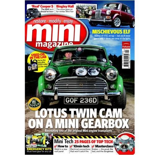 Mini Sport UK - The Mini Specialists: Mini World & Mini Mag on sale!