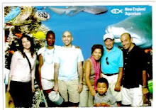 The family at the aquarium