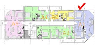 апартамент в Balkan Breeze на плане этажа