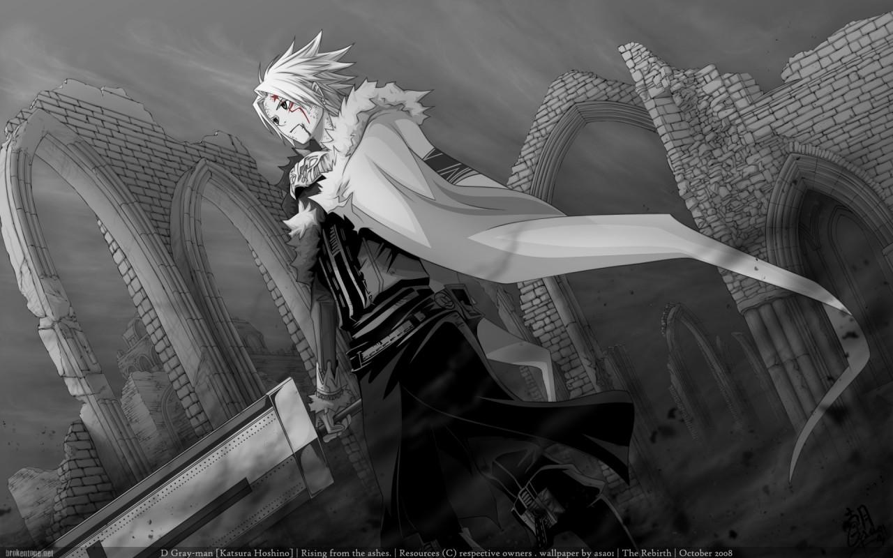 Anime Wallpaper: D.Gray-Man