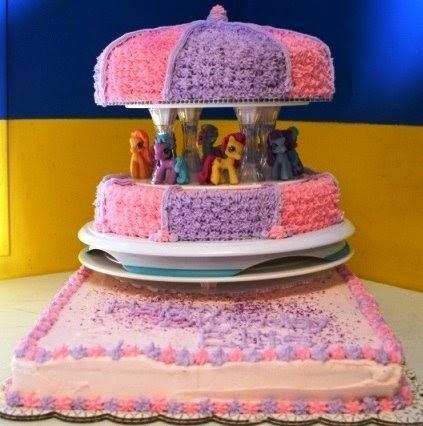 Tessa S Cake Corner My Little Pony Carousel Cake