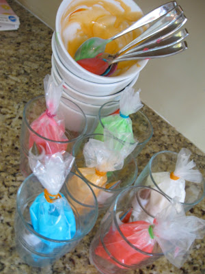 Gel food coloring gives you vibrant colors that really pop.