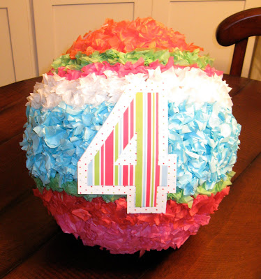 A DIY homemade pinata is the perfect addition to any birthday party.