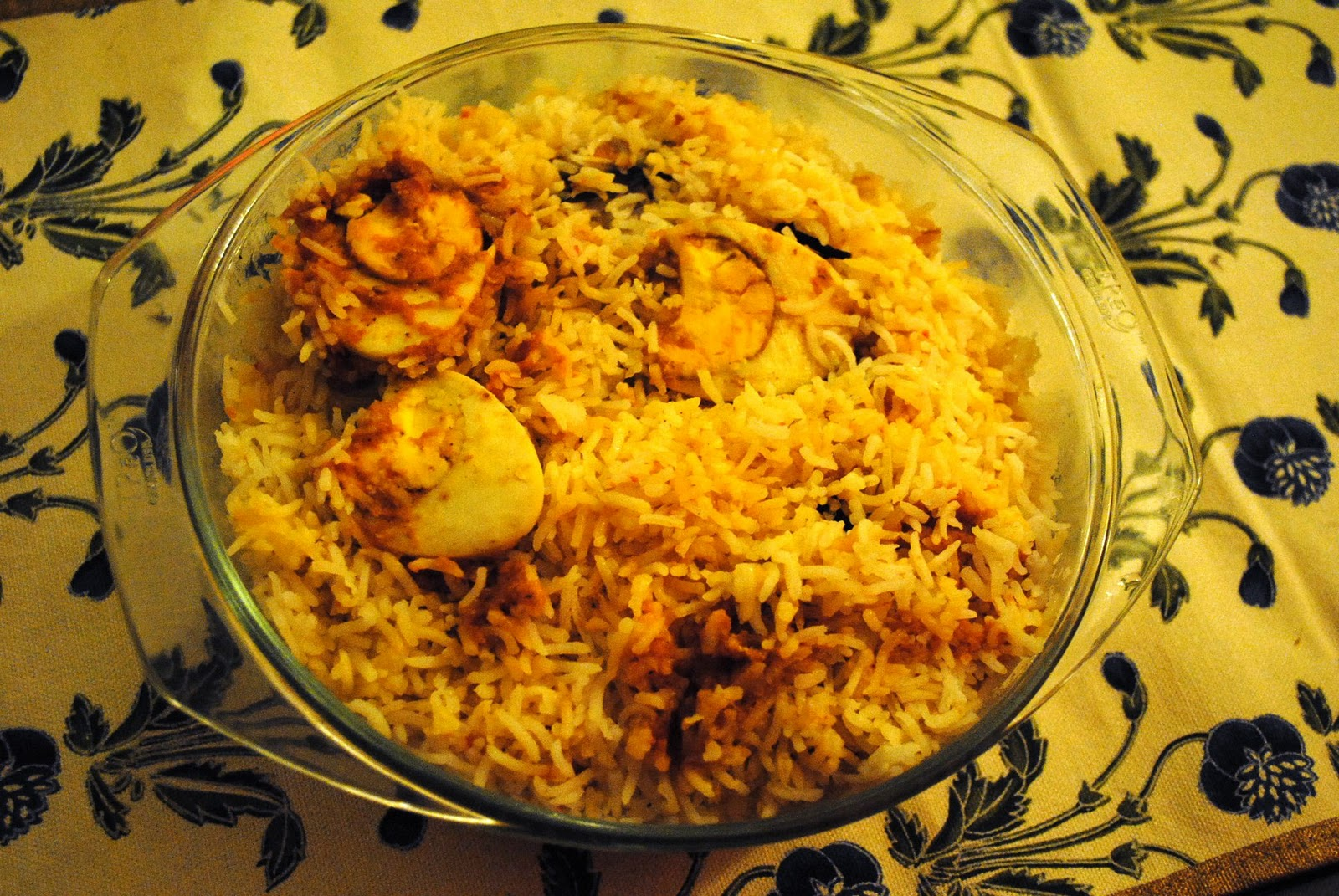 Peppermill: Tamil Egg Biryani - Pratibha Karan