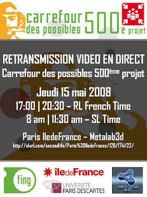 carrefour des possibles sur Second Life