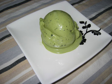 Matcha and White Chocolate Ice Cream