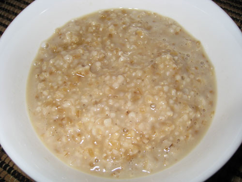 Maple Brown Sugar Oatmeal