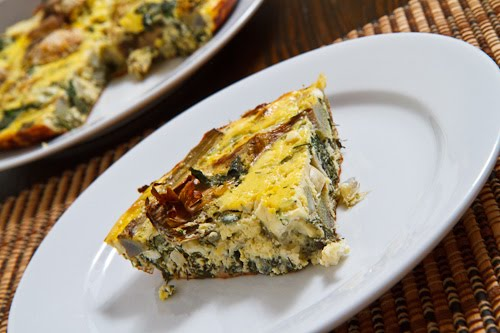 Artichoke and Spinach Frittata