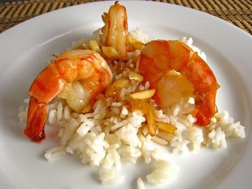 Amaretto Shrimp