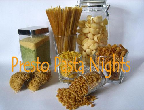 Presto Pasta Nights Logo