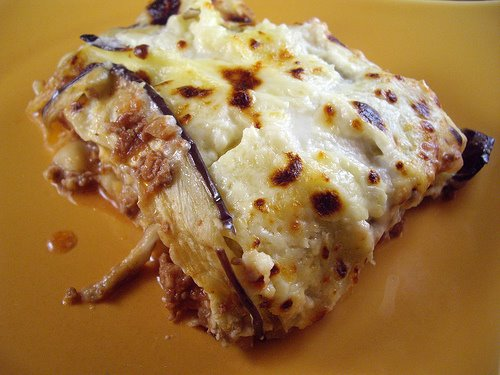 Greek-Style Lamb and Eggplant Lasagne