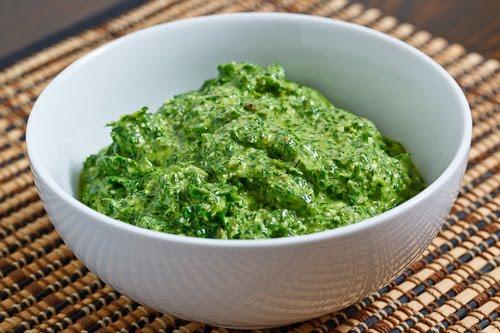 Spinach Pesto (aka Spanakopita Pesto)