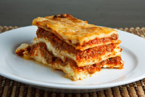 Lasagna on closet cooking for Different kinds of lasagna recipes