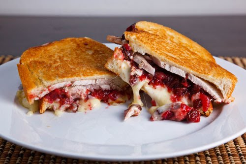 Grilled Turkey And Brie Sandwich With Cranberry Chutney Recipe On Closet Cooking