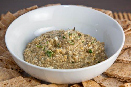 Melitzanosalata (Greek Eggplant Salad)