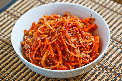 Bean Sprout Kimchi