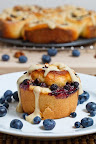 Blueberry Maple Pecan Cinnamon Buns