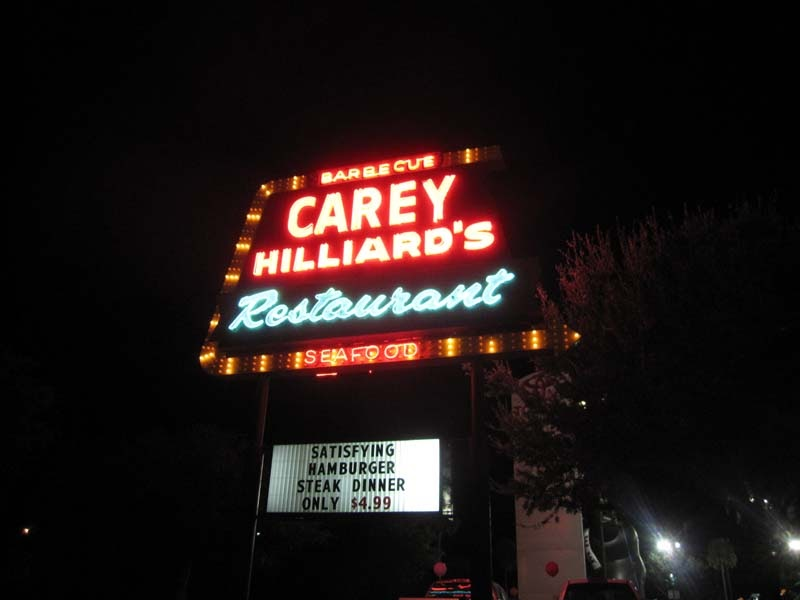 Carey Hilliard S Restaurant Savannah Ga