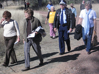 Myall Creek Memorial ceremony participants return for lunch