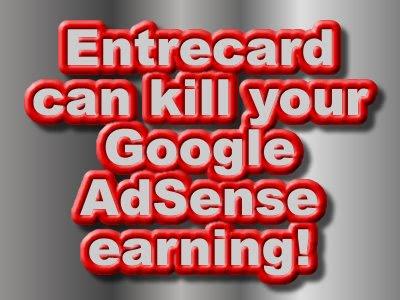 Entrecard, Google AdSense, Low CTRs, Low CPCs