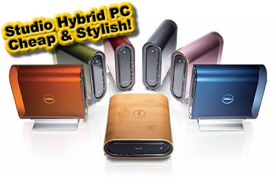 Dell Studio Hybrid PC, Cheap & Stylish!