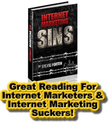 Internet Marketing Sins, Internet Marketing, Online Marketing, Business, Ethics, Money, Book