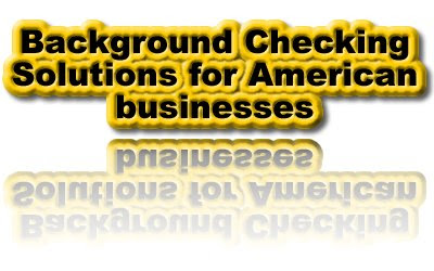 Background Checking Solutions, Sex Offender Registries, Criminal History Files, Government Watch Lists, Courthouse Searches, Motor Vehicle Reports, Name And Address Histories, Corporate, Financial, Black Listings