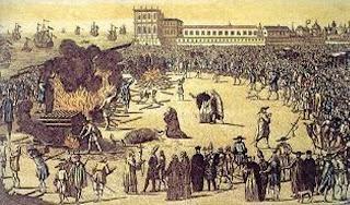 Resultado de imagem para hereges queimados na inquisição-fotos