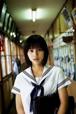 Horikita Maki : Beautiful Asian School Girl