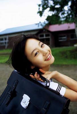 Horikita Maki : Japan School Girl