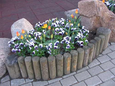 бордюр садовый
