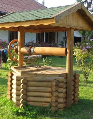 домик на колодец