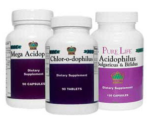 Ацидофилус, Мега ацидофилус, Хлородофилус