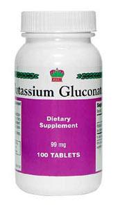 Глюконат калия