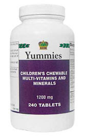 Yummies - Детские вкусные витамины