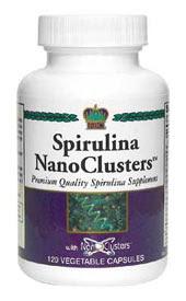 Спирулина с нанокластерами