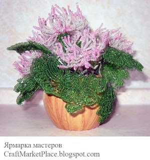 плетение бисер цветы картинки.