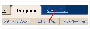 click on 'Edit html'tab