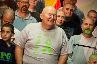 Tuesday night it was expressed by 42 shaved heads. Thanks guys. I am in  your debt. 6ee441f65e82