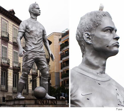 Cristiano Ronaldo: The Statue