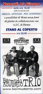 13 giugno: Bermuda Acoustic Trio