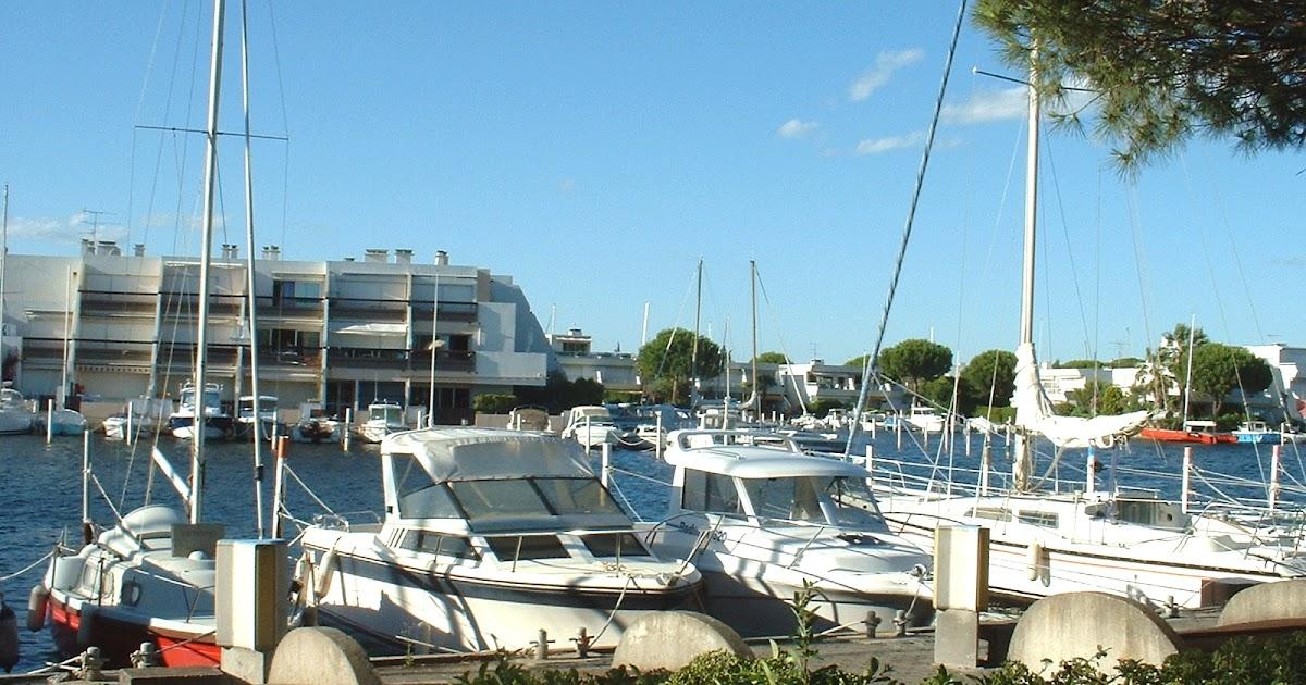 Studio Port Camargue Le Grau Du Roi Gard En Bordure