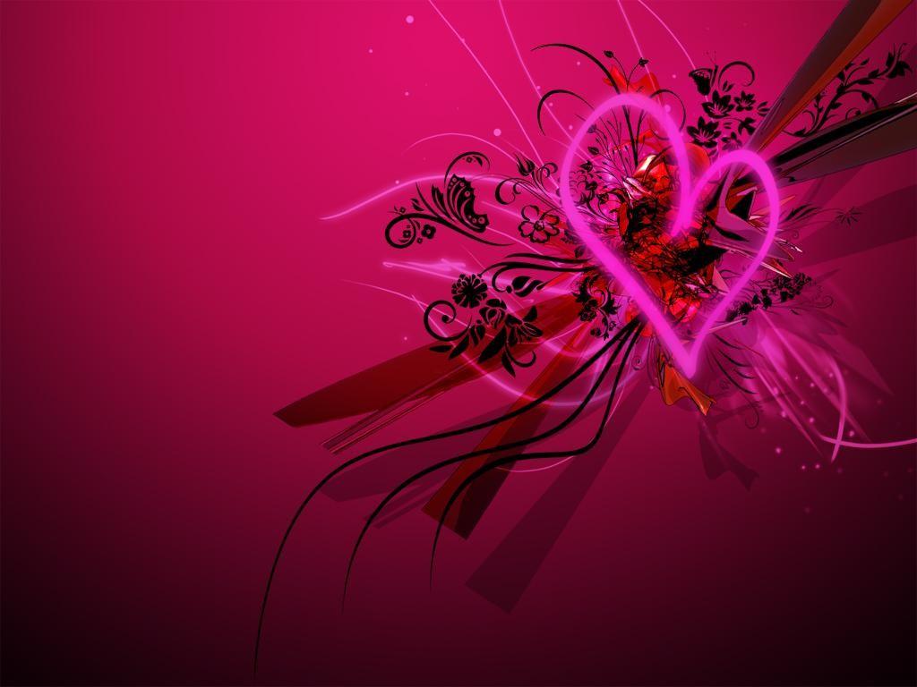 Imagenes De Amor Con Efectos: Corazones De Amor Con Efectos 3D