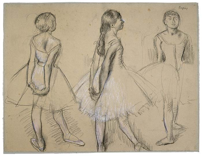BOOKTRYST: Degas In The Raw At The Morgan Library