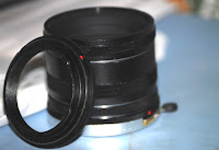 Extension tube set
